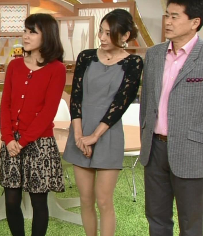 眞鍋かをり NHKでのひざ上20cmのミニスカがエロかったキャプ画像(エロ・アイコラ画像)