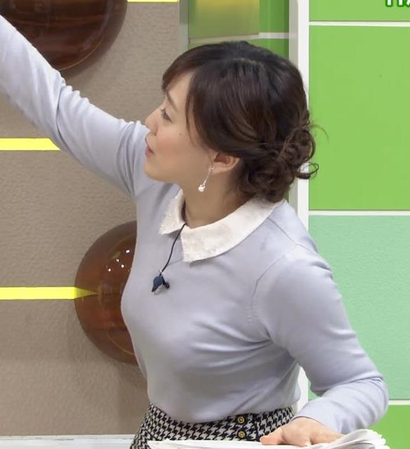 江藤愛 エロいおっぱいキャプ画像(エロ・アイコラ画像)
