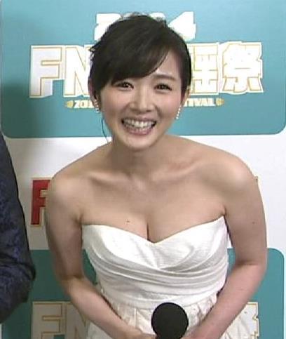 高島彩 過去最高おっぱい露出キャプ画像(エロ・アイコラ画像)
