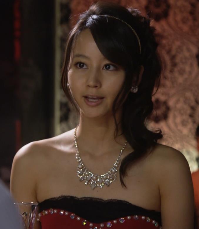 堀北真希 キャバ嬢ドレス姿キャプ画像(エロ・アイコラ画像)