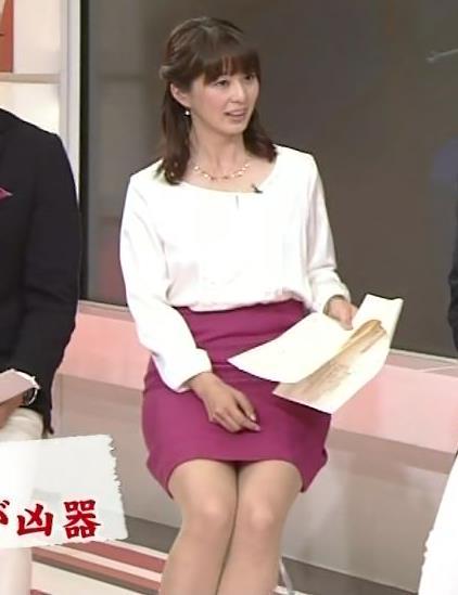 杉浦友紀 ミニスカのデルタゾーンキャプ画像(エロ・アイコラ画像)