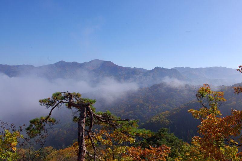 頂上直下岩場からの絶景②