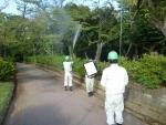 無農薬の害虫駆除。散布