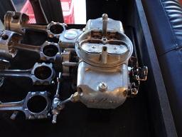 デーモン750cfm電磁チョークバキュームセカンダリー