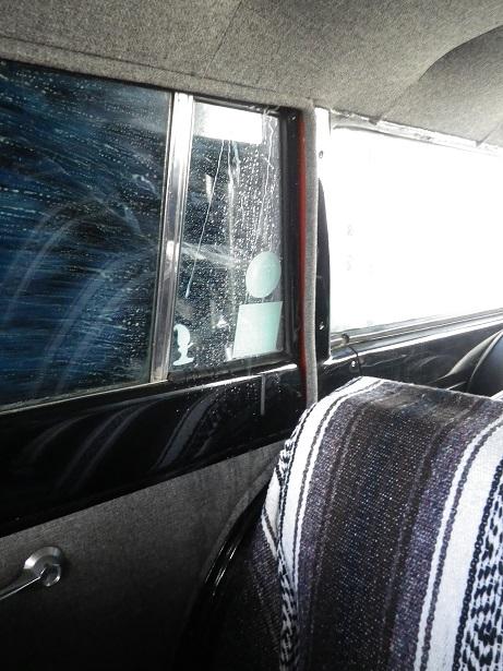 コメット洗車・・・