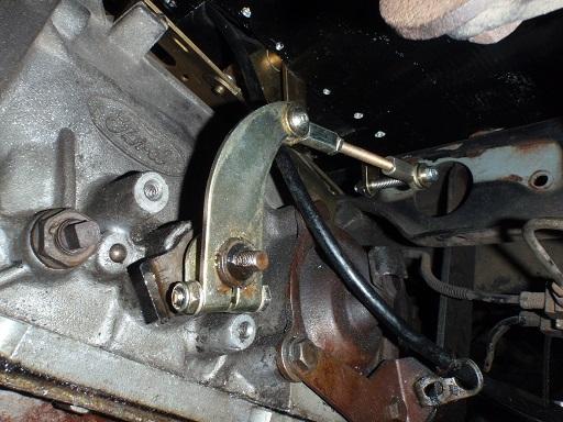 フォードATリンケージ調整 (2)