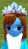 外観 雪の王冠 真っ青 1